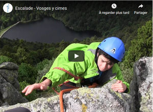FFME Escalade Vosges Y Cimes